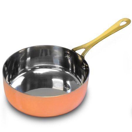 ظروف مسی با روکش داخلی